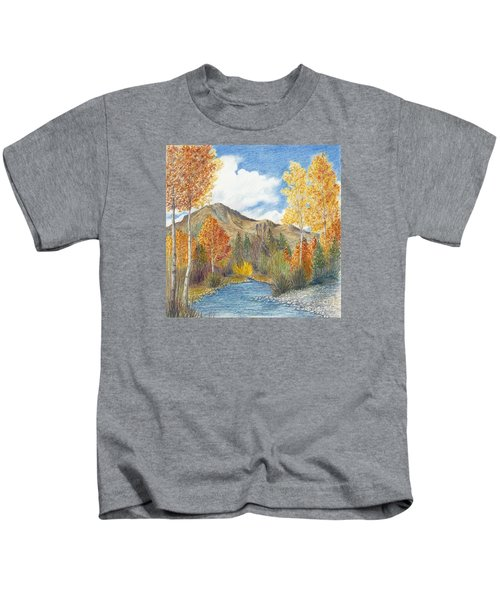 Fall Aspens Kids T-Shirt