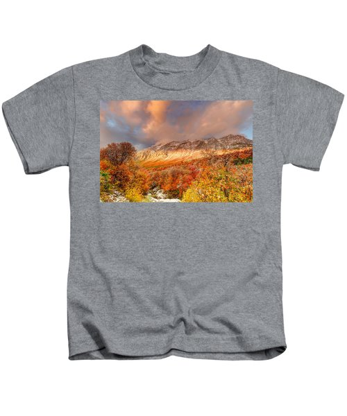 Fall On Display Kids T-Shirt
