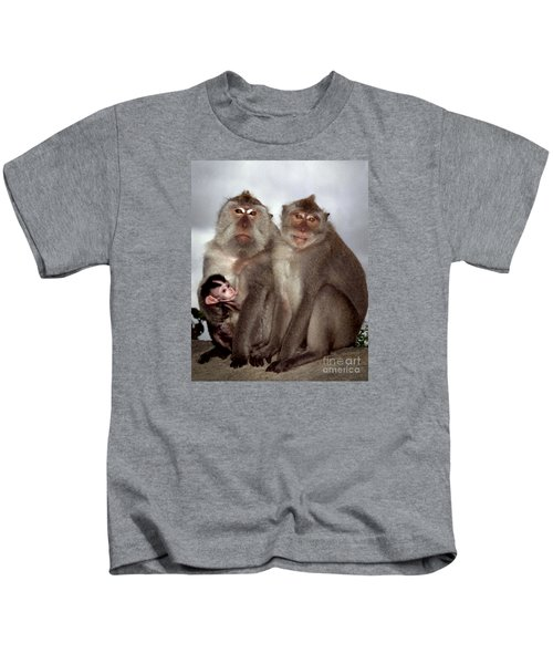 Family Portrait Kids T-Shirt