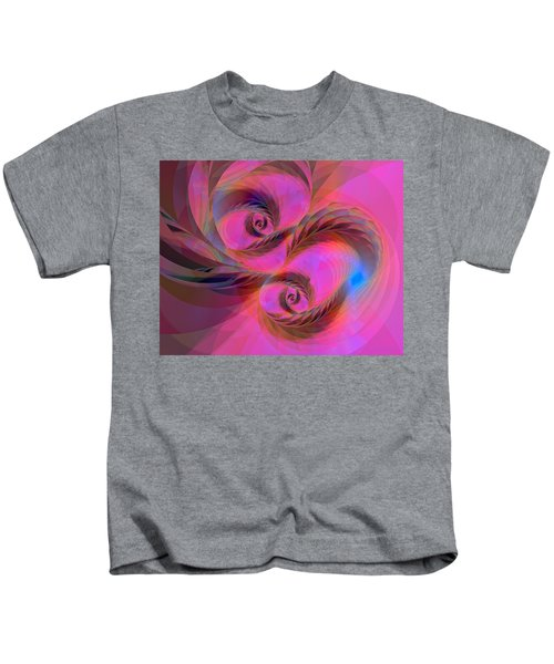 Feathers In The Wind Kids T-Shirt
