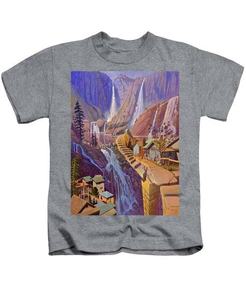 Fibonacci Stairs Kids T-Shirt
