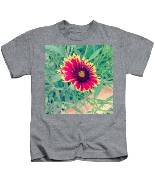 Fire Daisy Kids T-Shirt