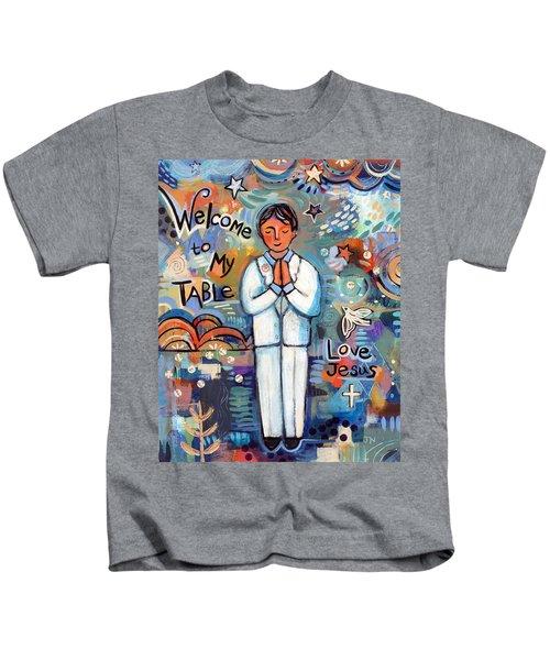 First Communion Boy Kids T-Shirt