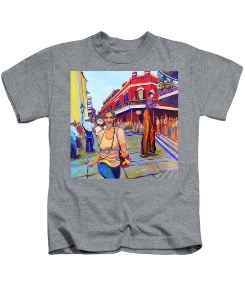 First Trip To New Orleans Kids T-Shirt