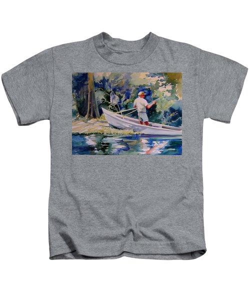 Fishing Spruce Creek Kids T-Shirt