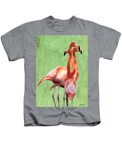 Flamingo Twist Kids T-Shirt