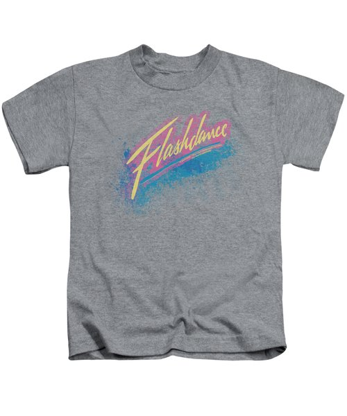 Flashdance - Spray Logo Kids T-Shirt