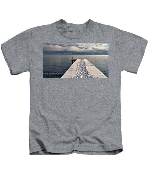 Flathead Lake Kids T-Shirt