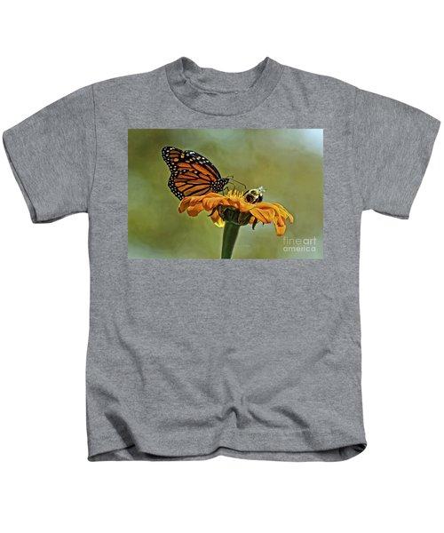 Flower Duet Kids T-Shirt