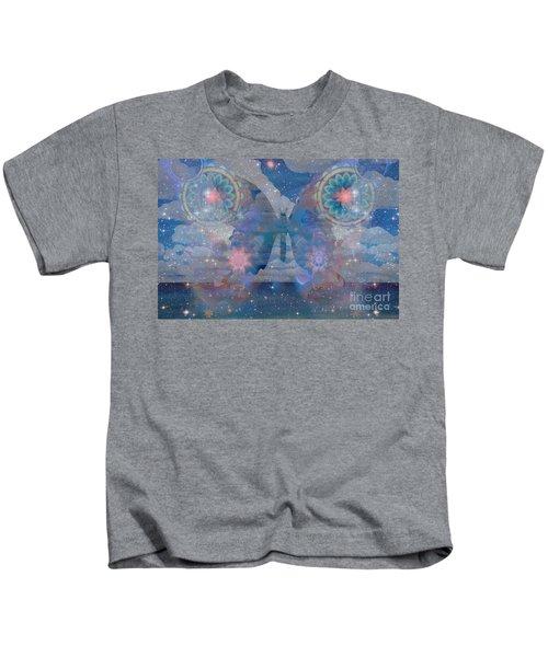 Flutterby Meditation Kids T-Shirt