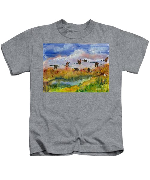 Flying South Kids T-Shirt
