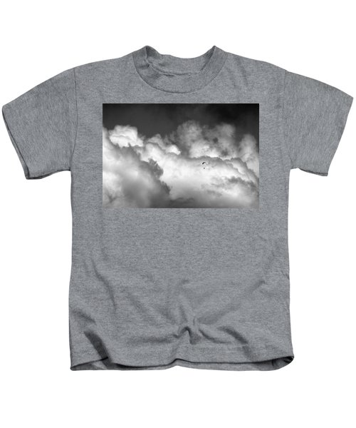 Flying Through The Clouds Kids T-Shirt
