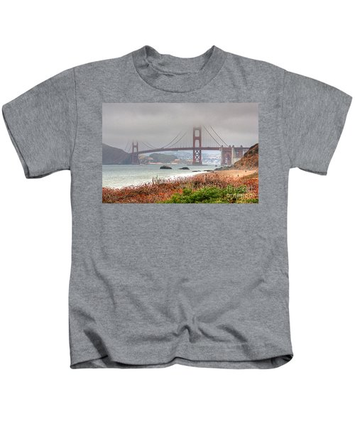 Foggy Bridge Kids T-Shirt