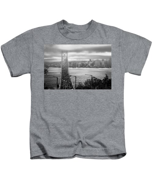 Foggy City Of San Francisco Kids T-Shirt
