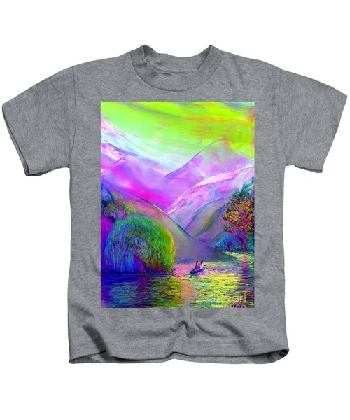 Love Is Following The Flow Together Kids T-Shirt