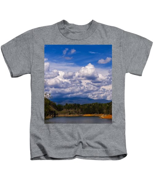 Fontana Lake Storm 2 Kids T-Shirt