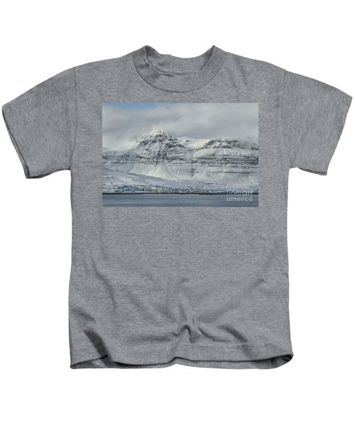 Foot Of The Mountain Kids T-Shirt