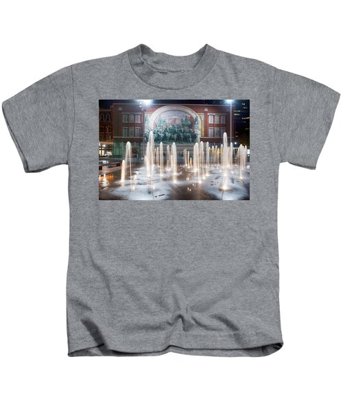 Fort Worth Sundance Square Aug 2014 Kids T-Shirt