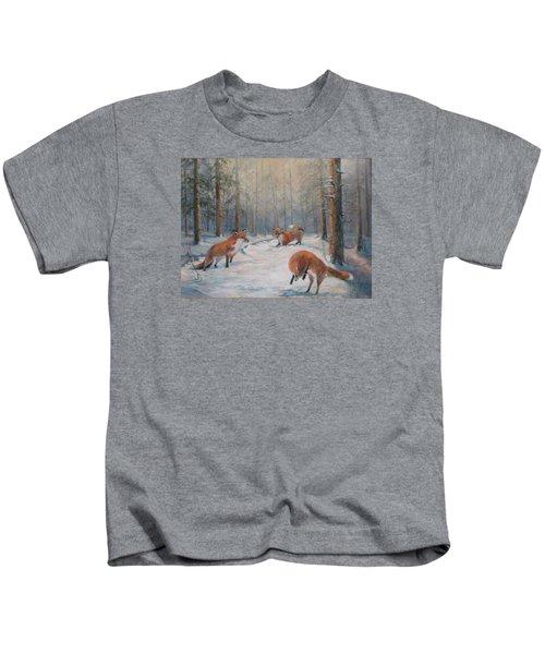 Forest Games Kids T-Shirt