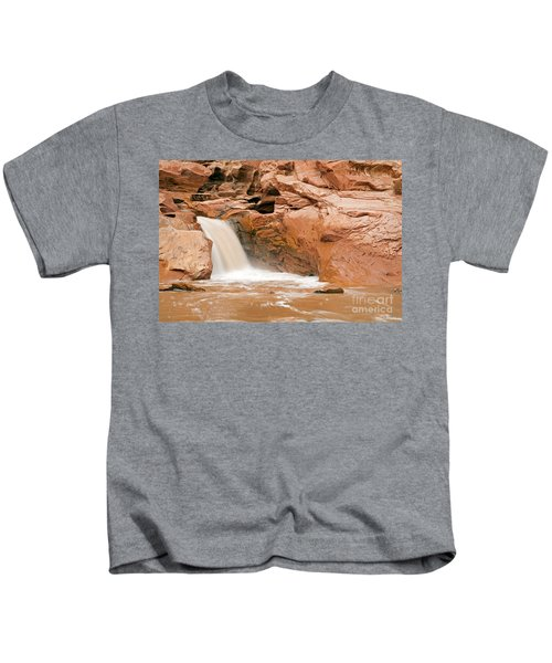 Fremont River Falls Capitol Reef National Park Kids T-Shirt