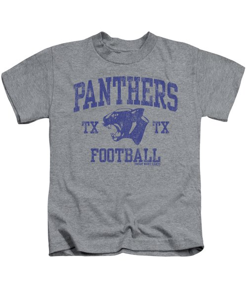 Friday Night Lights - Panther Arch Kids T-Shirt