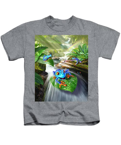 Frog Capades Kids T-Shirt