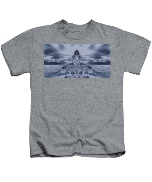 Frozen Dream On The Coast Kids T-Shirt