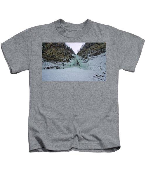 Frozen Waterfalls Kids T-Shirt