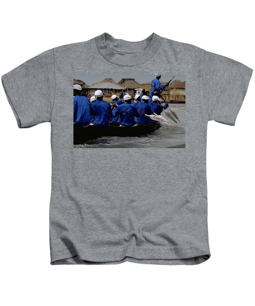 Ganvie - Lake Nokoue Kids T-Shirt