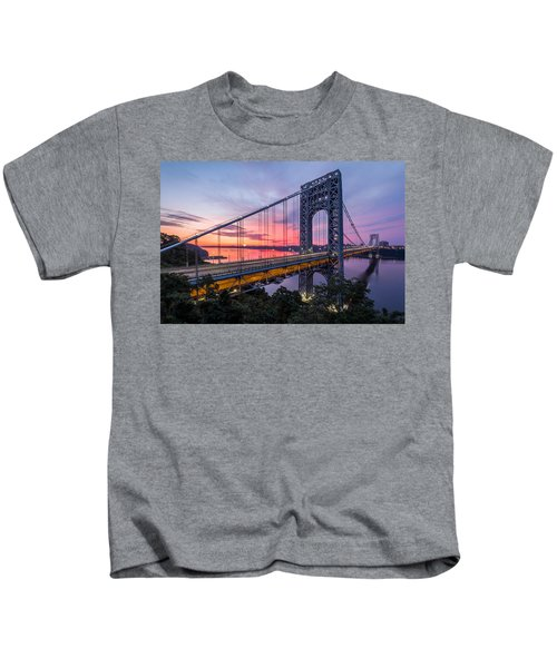 George Washington Bridge Kids T-Shirt