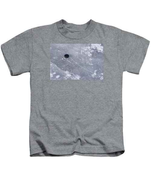 Get The Puck Outta Here Kids T-Shirt