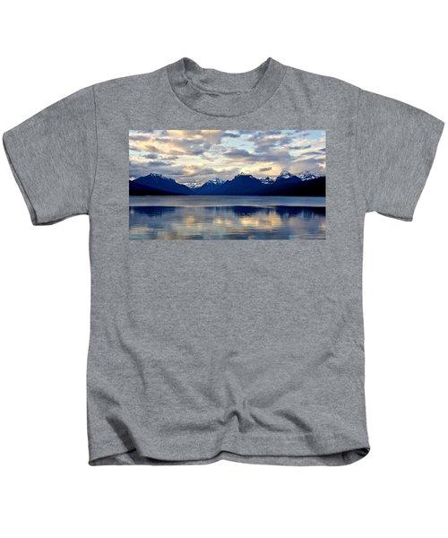 Glacier Morning Kids T-Shirt