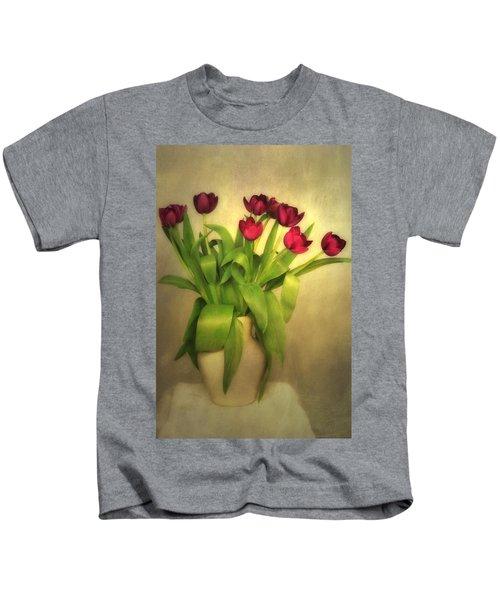 Glowing Tulips Kids T-Shirt