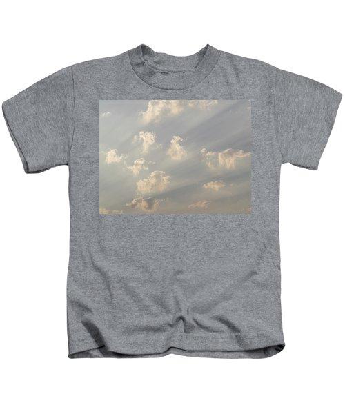 God Rays And Clouds, Okavango Delta Kids T-Shirt