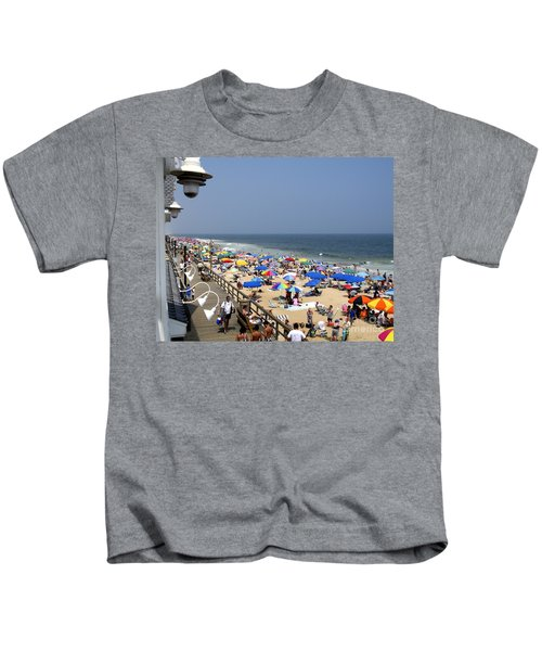 Good Beach Day At Bethany Beach In Delaware Kids T-Shirt