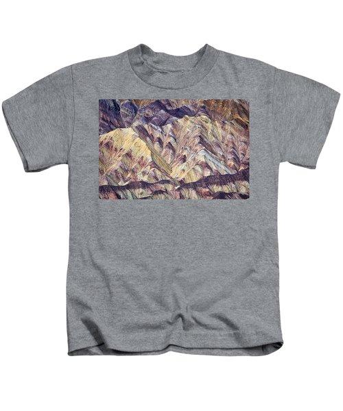 Gower Gulch Abstract Kids T-Shirt