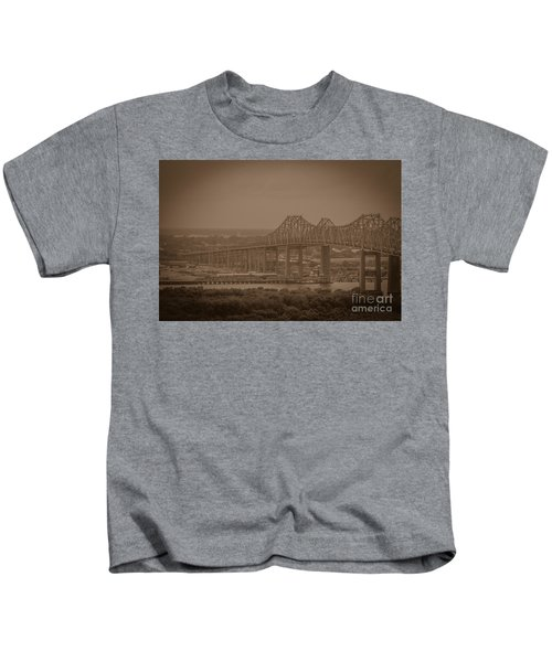 Grace And Pearman Bridges Kids T-Shirt