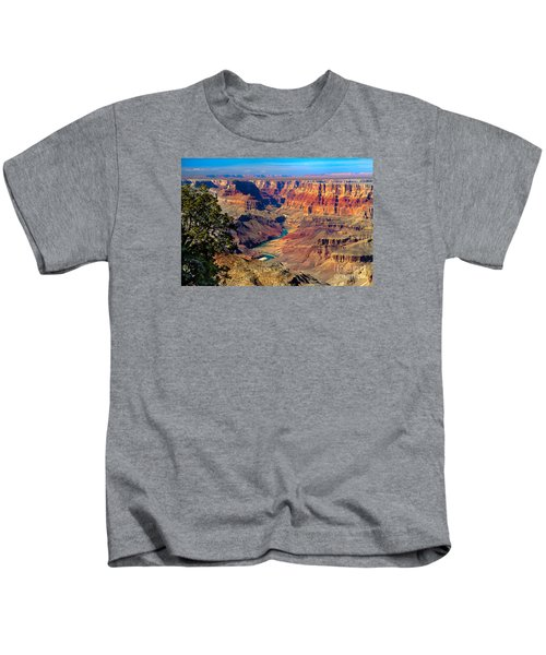 Grand Canyon Sunset Kids T-Shirt by Robert Bales