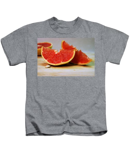 Grapefruit Slices Kids T-Shirt