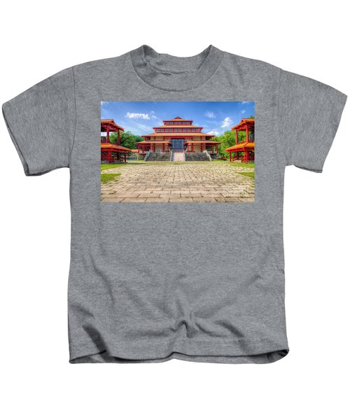 Great Buddha Hall Kids T-Shirt