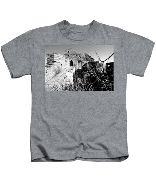 Great Wall Ruins Kids T-Shirt