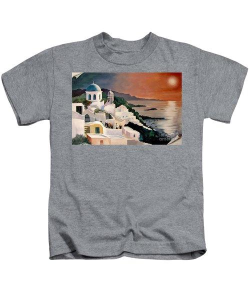 Greek Isles Kids T-Shirt