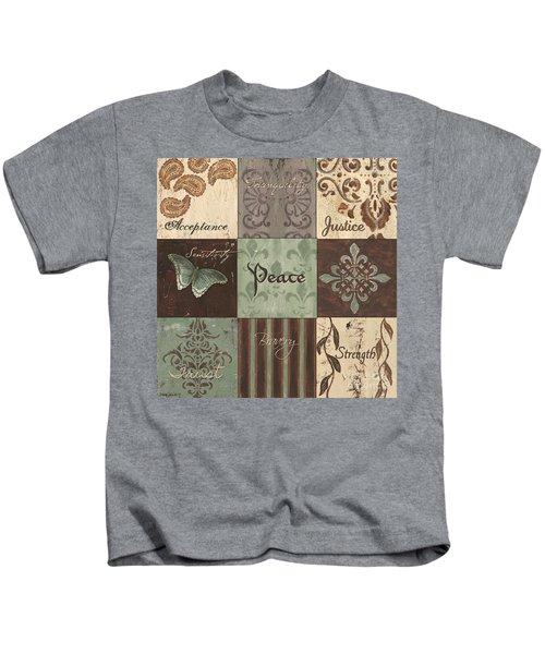 Green Brown Wtlb 2 Kids T-Shirt