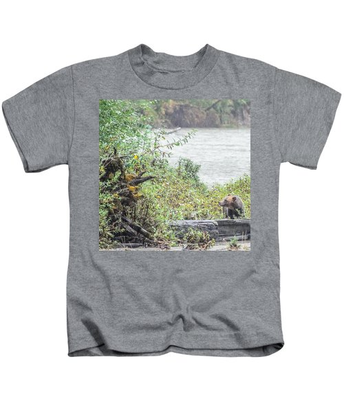Grizzly Bear Late September 2 Kids T-Shirt