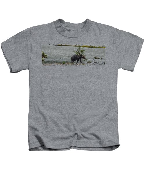 Grizzly Bear Late September 5 Kids T-Shirt