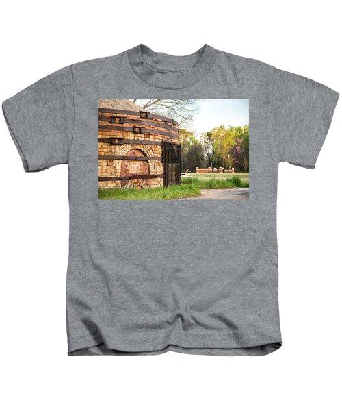 Guignard Brick Works-1 Kids T-Shirt