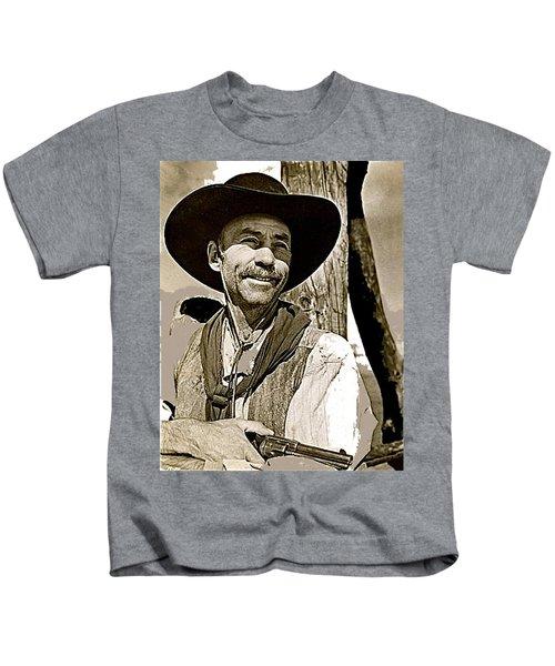 Hank Worden Publicity Photo Red River 1948-2013 Kids T-Shirt