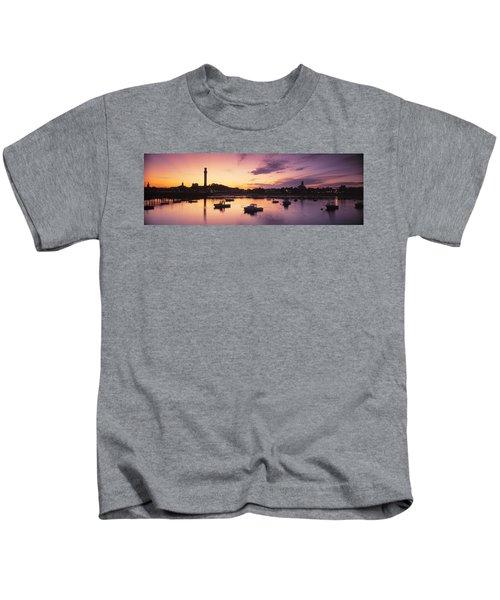 Harbor Cape Cod Ma Kids T-Shirt