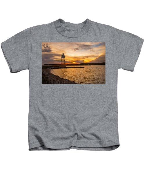 Harbor Sunrise Kids T-Shirt