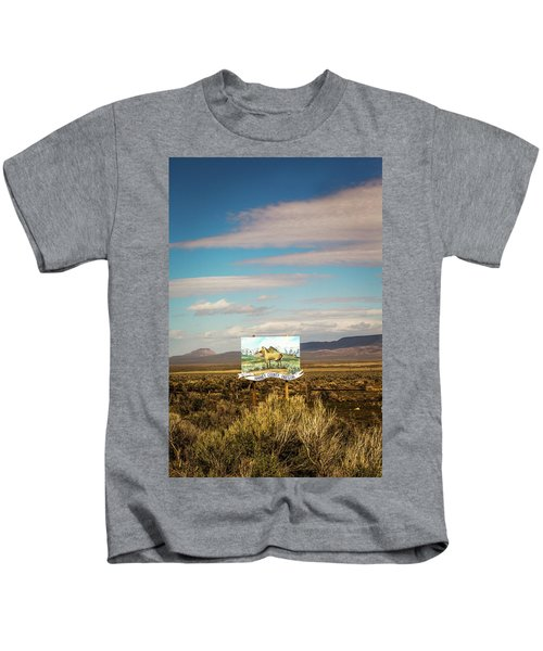 Harney County, Or, Usa. A Painted Horse Kids T-Shirt